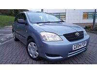 TOYOTA COROLLA T2 VVTI 1.4*ALMOST FULL TOYOTA SERVICE*BRAND NEW MOT*ALL NEW DISCS & PADS,TOYOTA