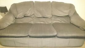 3 SEATER + 2 SEATER SOFAS TO SELL , GOOD CONDITION