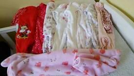 Newborn/up to 1 month girl bundle