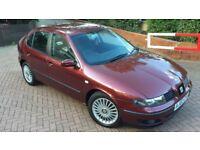 2002 02 Seat Leon Cupra 1.8T 220 BHP Remmaped Beautiful Example Rare Colour Full Service History