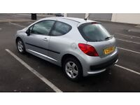 Peugeot 207 1.4 petrol full mot only 31000 mls nice clean we car lovely first timer car cheap tax