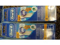 42 x 4 electric toothbrush heads contactable with oral B
