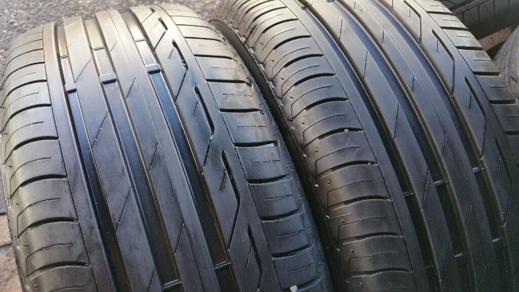 215 50 17 2 x tyre Bridgestone Turanza T001