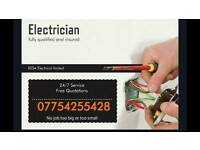 Electrician fully qualified and insured