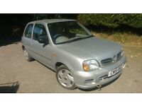 2001 Nissan Micra S 1.0 Automatic **Only 34000 miles**3 Months Warranty**Full Years Mot**