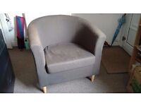 Grey Armchair for £20 - Comfy, Good Condition
