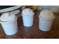 LAURA ASHLEY STORAGE JARS