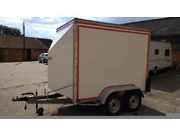 8'x4'box trailer (Indespension)