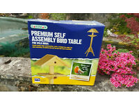 Gardman Premium Bird Table Brand New