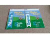 Letts, Make it easy, Maths/English, ages 6-7, NEW