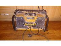 Dewalt radio battery charger