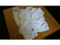 Children's Blitz Karate Suit- White , 140 cms