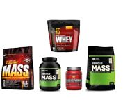 (Discounted Brand NEW & Sealed) Bodybuilding Supplements, Mass, Whey, Pre-workout