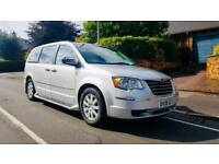 """""""Stow and go"""" Chrysler Grand Voyager 2.8 diesel 7 seater MPV. Fully loaded"""