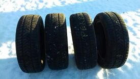 Winter Tyres (235/55 R19 Pirelli) x 4
