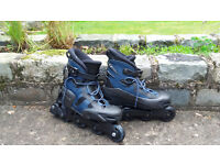 Two pairs of new Synergy Rollerblades