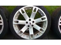 OVERFINCH- set of 4 Range Rover alloy wheels and tyres