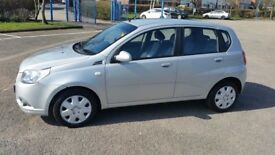 2009 CHEVROLET AVEO1.2 petrol. 5 door hatchback
