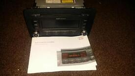 Audi double din stereo £35