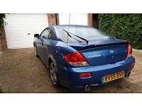 2005 Hyundai Coup, manual, petrol - £300 obo - SORN
