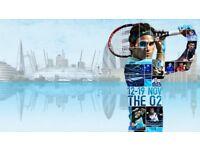 2 XTickets (Ad+Chd) Grand Final Nitto ATP Finals London 19th November 2017 at O2 Arena