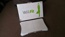 Balance board (boxed) with Wii Fit, EA Sports Active & Shaun White Snow Boarding