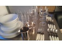Cutlery, tableware and glassware