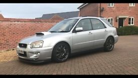 2003 Subaru WRX with STi internals