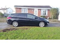 2012 Hyundai I40 estate 1,.7 diesel Automatic,,,all major credit or debit cards accepted