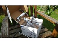 Azure Victorian style bath taps with shower attachments