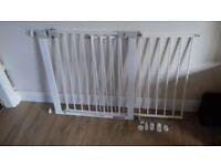 Baby stair gates (pair)