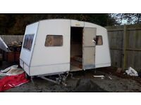 Late 70s pop up caravan in need of refurb