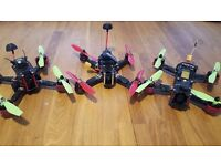 Quadcopter racing drone fpv