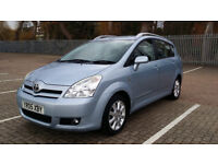 2005 Toyota Corolla Verso 2.0 D-4D T Spirit 7 Seats with FULL SERVICE HISTORY-10 STAMPS