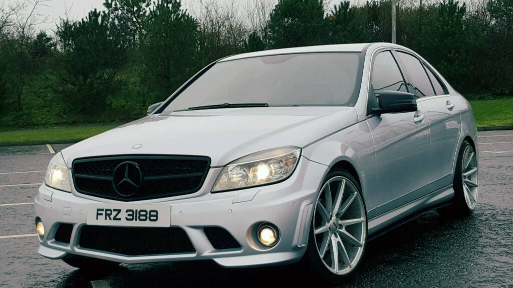 mercedes benz c class c200 amg cdi 2009 in sixmilecross county tyrone gumtree. Black Bedroom Furniture Sets. Home Design Ideas