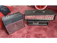 3 guitar amplifiers for repair