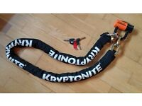 Kryptonite Security chain and lock