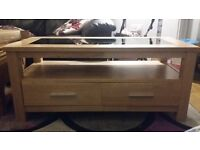 Solid Natural Wood 4 piece matching livingroom furniture