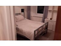 large double room in newly refurbished flat in gorgie furnished £425 pcm