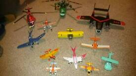 Die-cast planes bundle