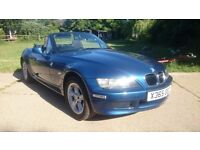 BMW Z3 year 2000, Blue and Beautiful