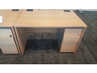 Beech desks
