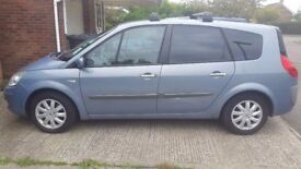 2007 Renault Grand Scenic 1.6L 7 seater, excellent condition, MOT Sept 2018, FSH, recently serviced