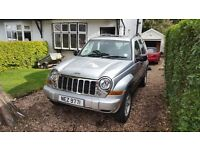2006 Jeep Cherokee 2.8 CRD Limited - Automatic - 4x4 Diesel - Low mileage