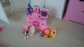 For sale toy castle with figures