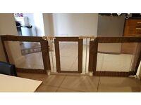 Infant room divider - extra wide with door