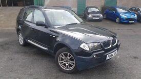 BMW X3 3.0 i SE 5dr 12 MONTH MOT/DRIVES EXCELLENT/BARGAIN