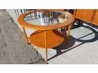 Mid Century 2 Tier Coffee Table