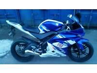 Yamaha yzf r125 tuned!!!