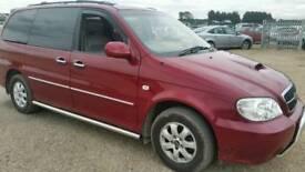2006 KIA SEDONA CRDI 7 SEAT MPV 100K